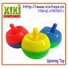 Colored super power plastic spinning top toy