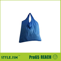 Foldable ball shaped large capacity expandable shopping bag