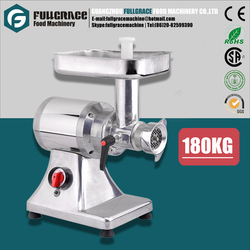 hot sales power 735w capacity 180kg material S/S meat grinder FG-MG180B