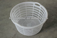 OEM Plastic round laundry storage baskets for special offer