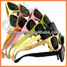 2015 New China S3007 nature polarized bamboo wood eyewear