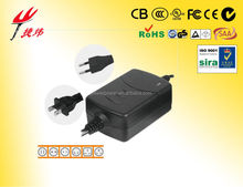 Model 012 of 10W-18W Desktop Power Adapter with AC cord