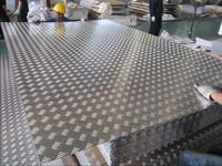 pebble embossed aluminum sheet for trailer