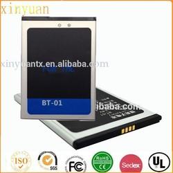 High quality standard lithium battery 2250mAh T100 battery BT-01 mobile phone battery for THL