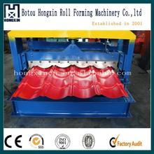 828 Automatic Hydraulic Glazed Tile Roof Panel Cold Steel Sheet Roll Forming Machinery With Economical Price