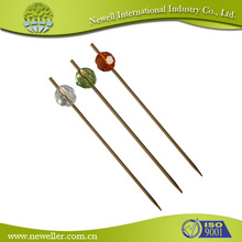 Beautiful updated bamboo bead pick for kids for sale