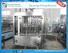3 in 1 PET Bottles Mineral Water Filling Machines CGF18-18-6,6000BPH