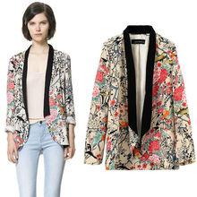 las mujeres de moda nueva instyles retro vintage hippie de flores sueltas kimono blusa de gasa zt005042 mejor ropa