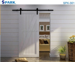 2015 Classic Barn Wooden Interior Door Black From Hangzhou China
