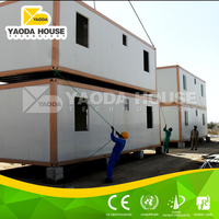 Fast install accomodation container house