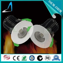 Alibaba express new product 5W/7W/10W led cob downlight dimmable 87mm diameter