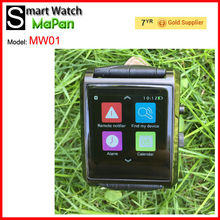 Smart watch mobile phone call function, 360-Round Screen ; Real IPS Full view,1.54-inch MaPan smart watch