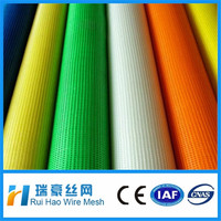 hot sale 120g 4x4 alkali resistant fiberglass mesh cloth / fiberglass mesh (15years old factory )