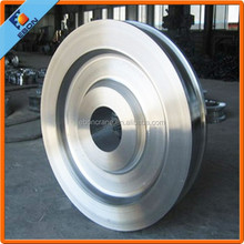 International Certificated Workshop Using Wheel for Crane with Best Price