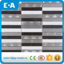 Black And White Stainless Steel New Arrival Modern Design White Crystal Glass Bathroom