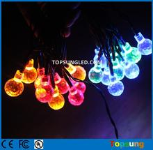 hot sale led balls for parties led solar christmas decoration for wedding 20 bulbs