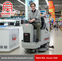 China Industrial Floor Cleaning Washing Machine Factory
