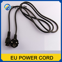 Factory direct sell slow cooker power cord/braided power cord,cable for PS3,hair dryer,sofa,PC