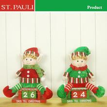 manufactured by Shantou St. Pauli Garment & Craft factory customised elf advent calendar items make wooden christmas ornaments