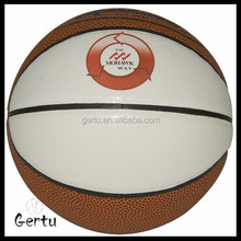 Pu leather Size 6 student basketball ball