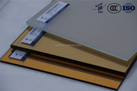 toughened gold reflective glass price / Beijing XSH Glass