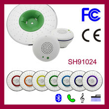Dusun Xiamen music Shower head with speaker shower light cover