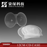 Super Slim Clear Clam Shell Cd Case