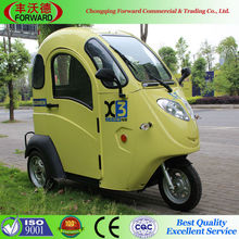 Rear Wheel Drive 60V 120Ah Made In China Electric Three Wheel Scooter