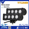 Y&T auto parts 9.5inch led work light bar 40w flood/spot/combo beam off road electric bikeled light bar