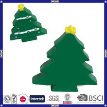 Factory sale top quality christmas tree shaped pu toy
