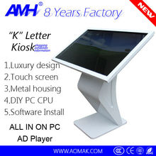 42 inch automated windows touch screen kiosk prices/Advertising Players