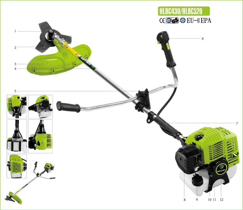 shrub cutting machine