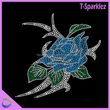 hot sale motif batik jawa timur hotfix stone flower motif for dresses