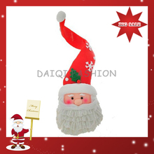 2015 Hot Sale New Fashion Christmas hat Gift,Happy Mood Christmas Toy,Mini Cute Christmas Santa
