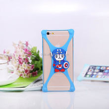 wholesale 3d printer pc bumper+tpu for iphone 6 case for Samsung s6 edge