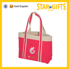China Suppliers Wholesale OEM Cotton Tote Bag With Custom Printed Logo For Shopping