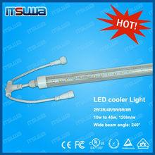 Hot selling patent 18w waterproof cooler door led 240V EMC Tube light