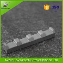 YG6/YG8 sliver grey tungsten carbide jaw inserts