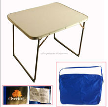 China wholesale small table stock lot A4415 cheap price foldable table surplus for sale
