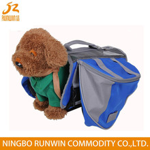 2015 Hot Sale Eco-Friendly 600D Polyester Dog Backpack