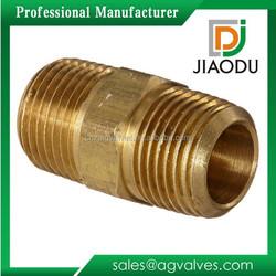 Brass Male Hexagon Nipple Pipe Fitting Copper Threaded Nipple