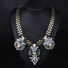 Longway chunky gold chain necklace diy chunky necklace jewelery wholesale
