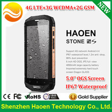 Low Price Shenzhen 4G LTE Rugged Smarthone IP67 Waterproof Rugged Phone Android 5.0 Inch IPS Screen Ultrathin Rugged Smartphone
