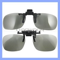 Myopia 3D Glasses for Movie Clips Clip-on 3D Glass