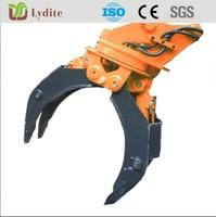 Excavator Hydraulic Rotating Grapple Wooden,Grapple Log,Grapple Stone