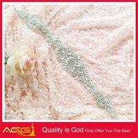 High quality fashion elegant bridal decoration crystal beaded wholesale jelly crystal sexy feet flip flop