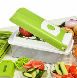 2015 stainless steel multi-function vegetable nicer dicer as seen on tv kitchen tools set