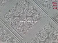 New Design Vinyl Coated Gypsum Ceiling Tiles