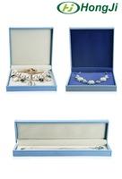 Custom Size Flat Velvet Jewelry Box Necklace Bracelet Box Set