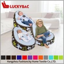 Multifunction baby bean bag chair,baby toddler bean bag snuggle beds, portable seat nursery rocker blue dots/white,infant crib